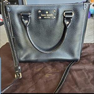 Kate Spade classic black purse